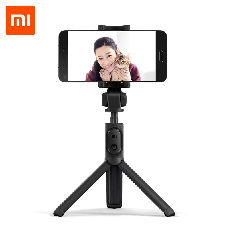 Xiaomi Selfie Stick Tripod Bluetooth 3.0 Monopod Selfie Stick 2in1 with Wireless Shutter Portable for Mobile Phones Android iOS