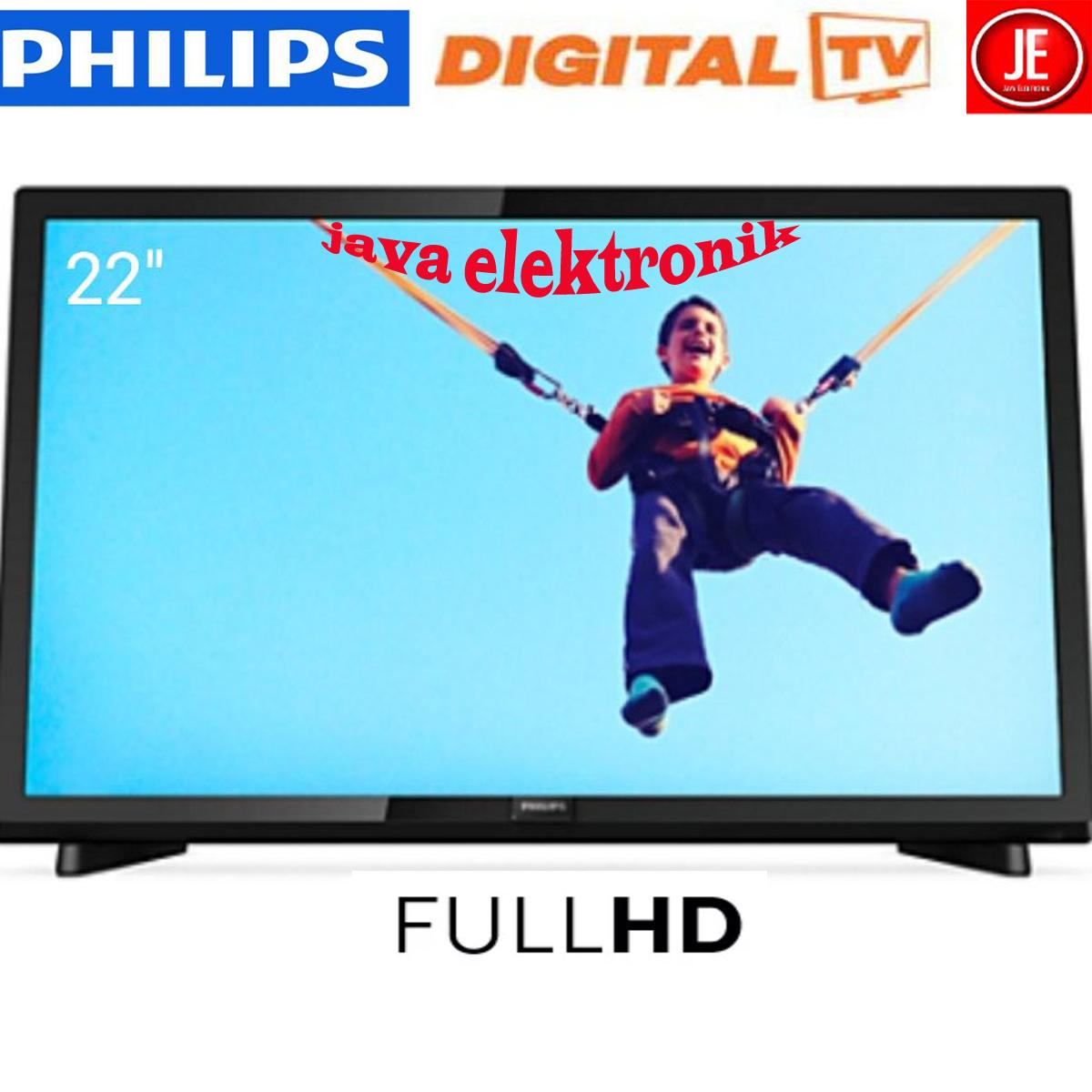 TV LED PHILIPS 22PFT5403S-DIGITAL TV-FULL HD-USB MOVIE - 22INC GARANSI RESMI