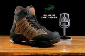 Pencarian Termurah Crocodile Delta Wolfrin Tan Sepatu Boots Pria Safety Tracking Ujung Besi Proyek Kerja Lapangan Hiking Touring Bikkers harga penawaran ...