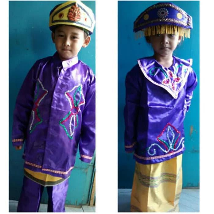 Best Seller!! Baju Karnaval Anak Adat Betawi Murah - ready stock