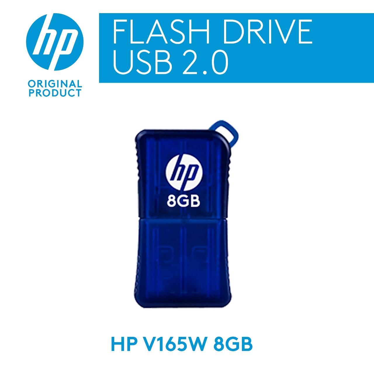HP Flashdisc Mini USB v165w - 8GB