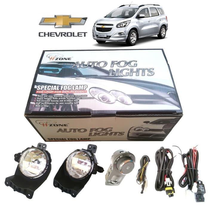Chevrolet SPIN Lampu Foglamp/Lampu Kabut | ( lampu  mobil hid plafon depan rem sorot led h4 kabut fog lamp tembak variasi strobo rem toyota innova hid avanza osram )
