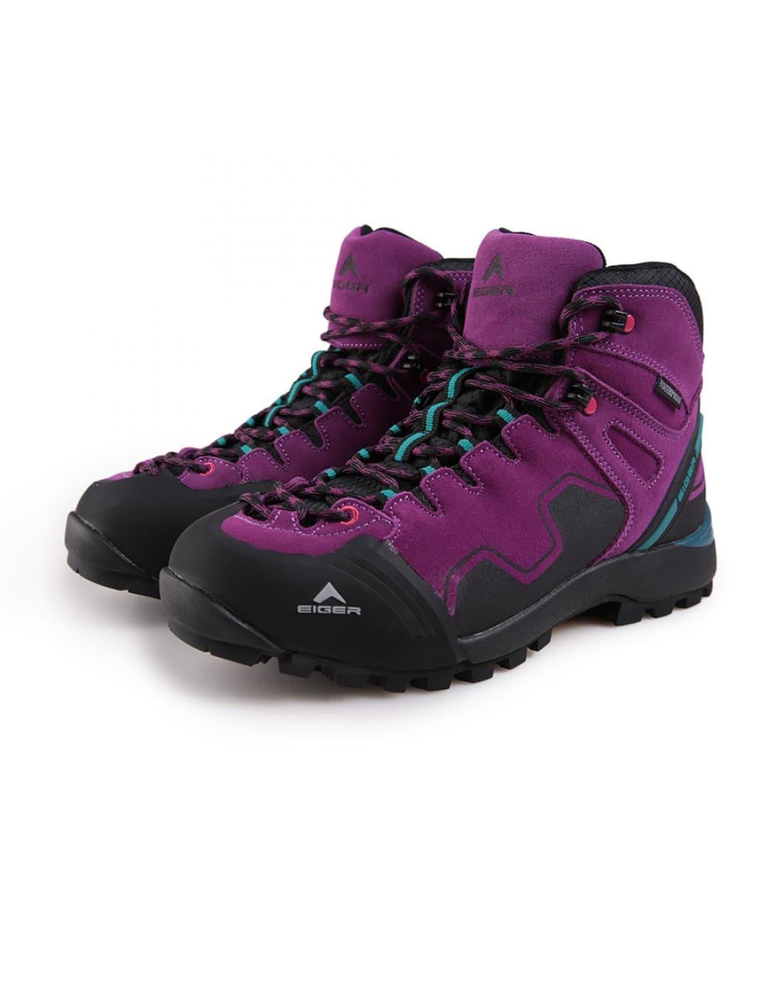 Sepatu Gunung Wanita Eiger Walton // Sepatu Gunung Waterproof Original - Turquoise, 37