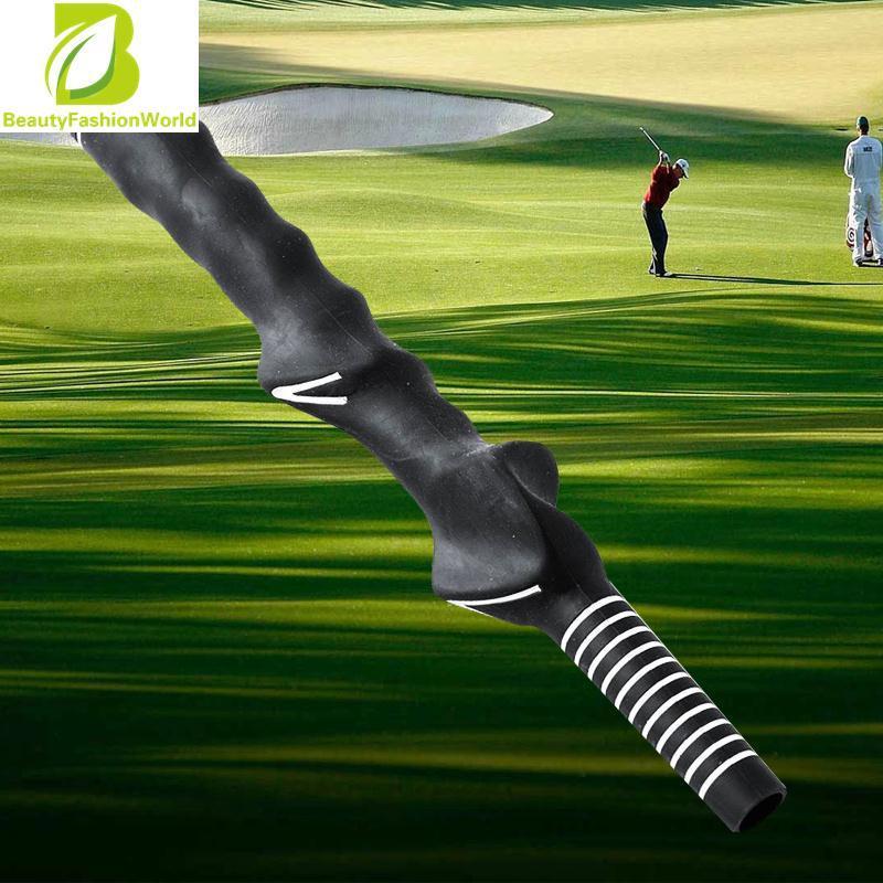 Harga golf club swing training grip pelatih karet latihan outdoor bantuan | HARGALOKA.COM