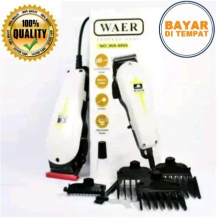 Mesin Alat Cukur Rambut WAER - Super Taper Original Profesional (Clipper) b7790abe06