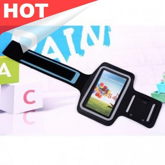 HARGA SPESIAL!!! Neoprene Sports Armband Case with Key Storage for Samsung S3/S4/S5 - iXVDmv