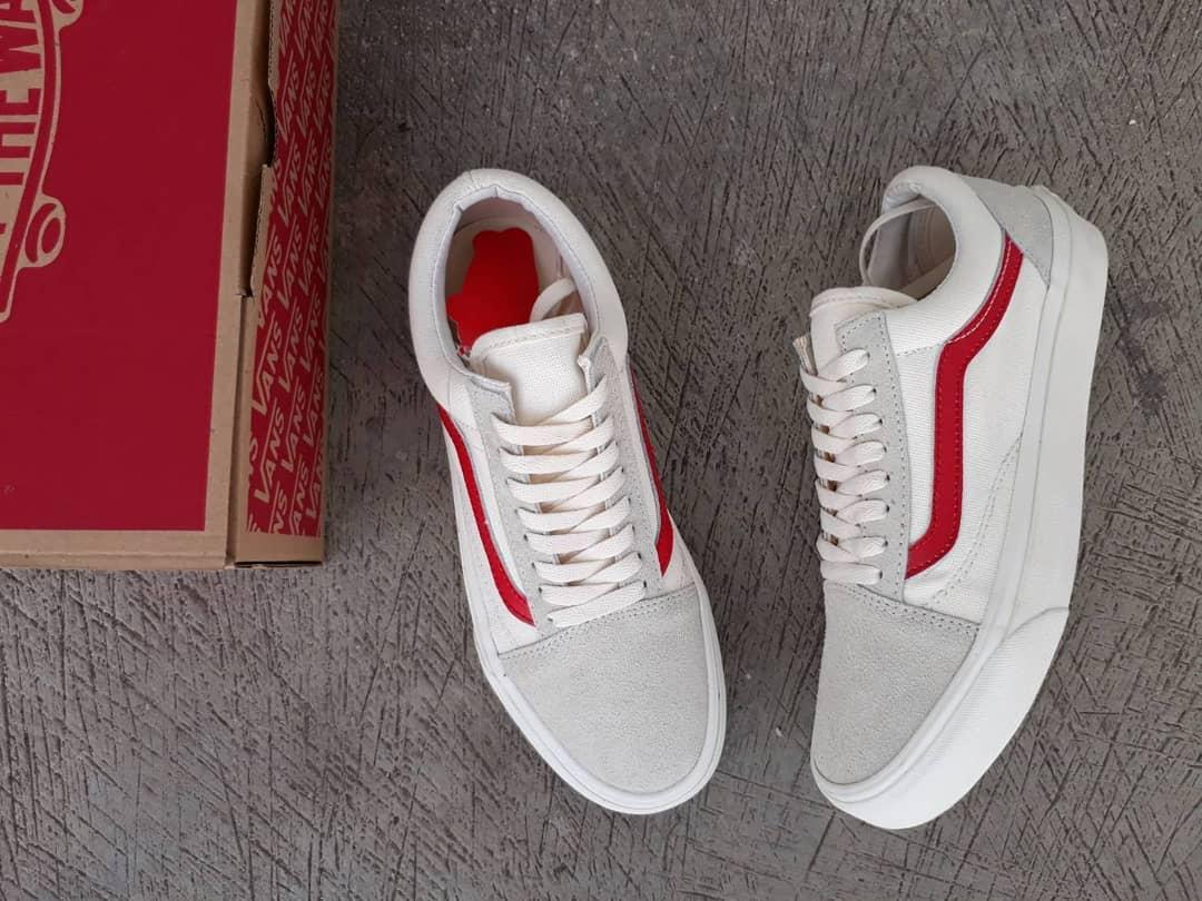 Sepatu Vans Kualitas Grade Original Harga Promo Model Sneaker Cocok Untuk Sekolah dan Kuliah