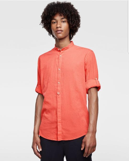 Kemeja Zara Man Original Not Baju Koko Lebaran