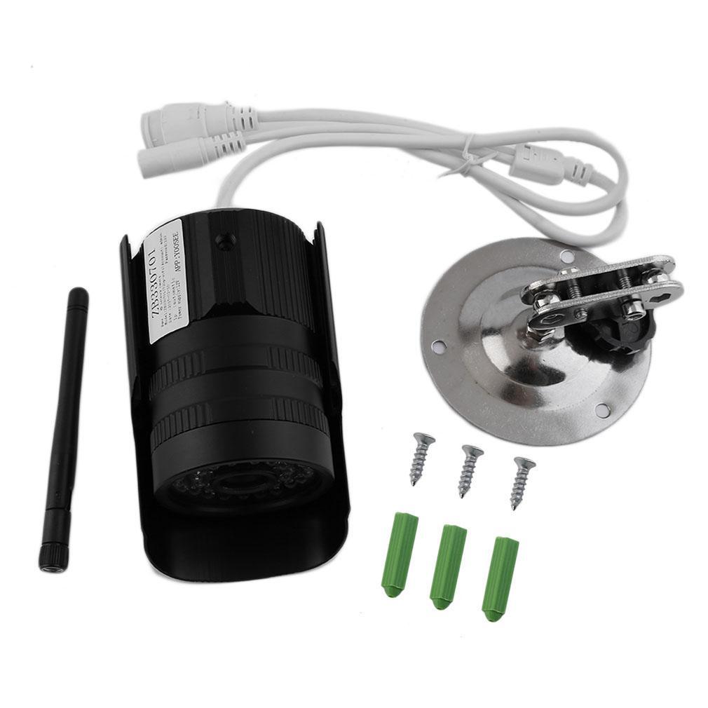 Lalove Profesional Juta HD Steker 720 P/960 P Kamera Jaringan Deteksi Alarm TF Kartu Penyimpanan Inframerah Malam Vision kamera Hitam TF720P