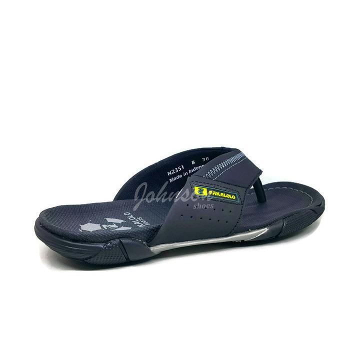 [ Johnson Shoes ] Sendal / Sandal Jepit / Japit Kulit Pria / Laki Lelaki PAKALOLO