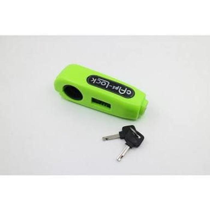 GRIPLOCK kunci gembok pengaman stang motor | ( gembok alarm motor anti maling koper sepeda pagar cakram kinbar kode tas mobil clock rumah sensor gerak pintu digital remote lock bht ) |