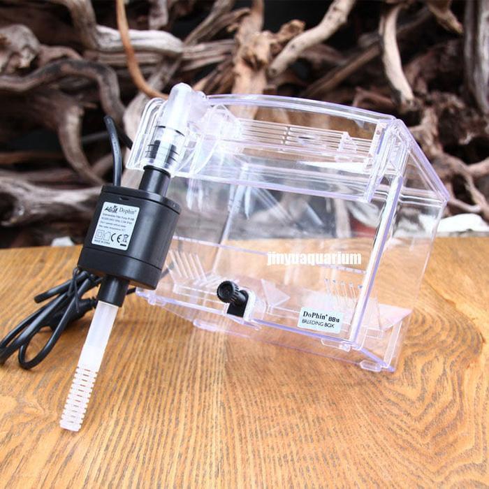 Eksternal Hang On Filter Permukaan Skimmer Mini Nano Ikan Aquarium Tank- InternasionalIDR299000. Rp 300.000