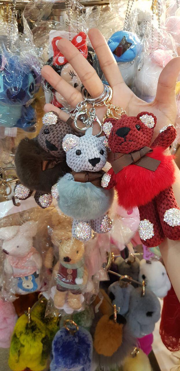 HOT SPESIAL!!! bear rabbit blink tutu bagcharm import - hgonF5