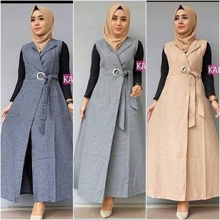 D.N.Y.H Shop Auter kalani Baju Muslim / Kemeja Dress / Kardigan / Tunik / Atasan Wanita / Dress Wanita / Blouse Jumbo / Dress Jumbo / Dress Muslim / Blazer Jumbo / Baju Kerja / Syari / Gamis / Baju Koko / Jumpsuit / Outer / Cardigan