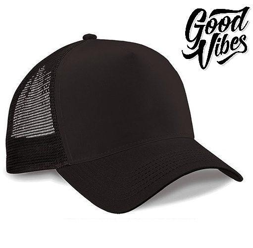 GOODVIBES Apparel Topi Polos Keren   Topi Truck Hat   Topi Distro Murah -  Coklat 298422d29c