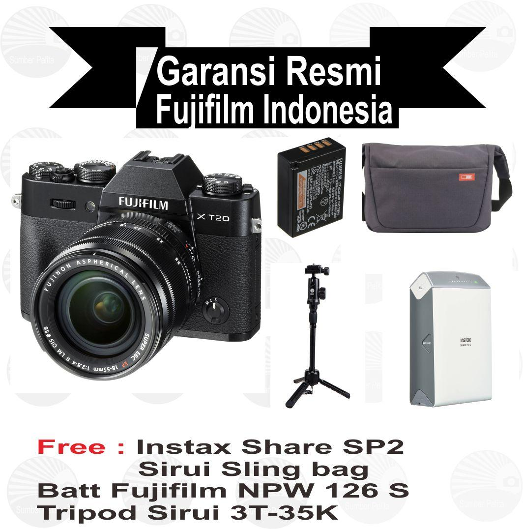 Buy Sell Cheapest Fujifilm X T2 Best Quality Product Deals Instax Mini 8 Garansi Resmi Indonesia Hitam T20 Kit 18 55 Mm Mirrorless Free Sp2
