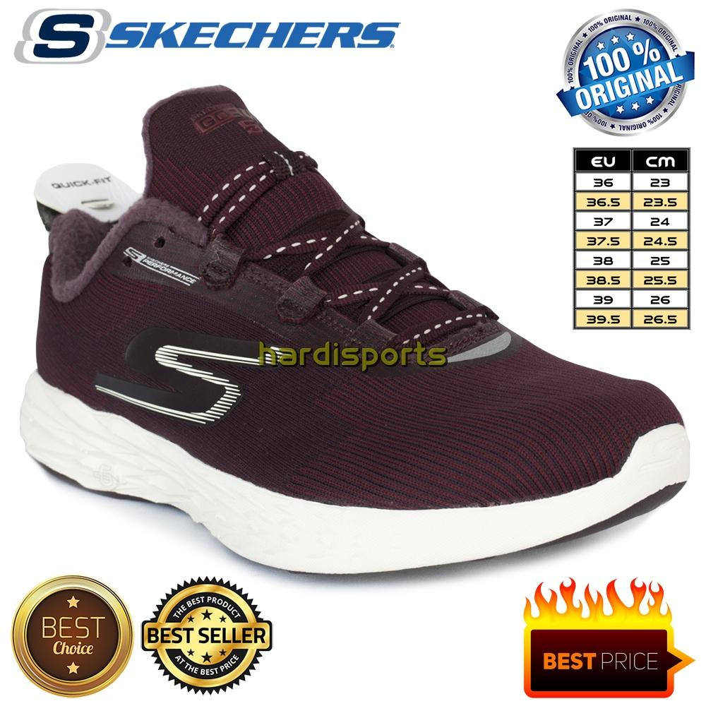 Sepatu Running Pria-Wanita Skechers Go Run 5 Go Therm 360 15018-BURG - dd90dddfe7