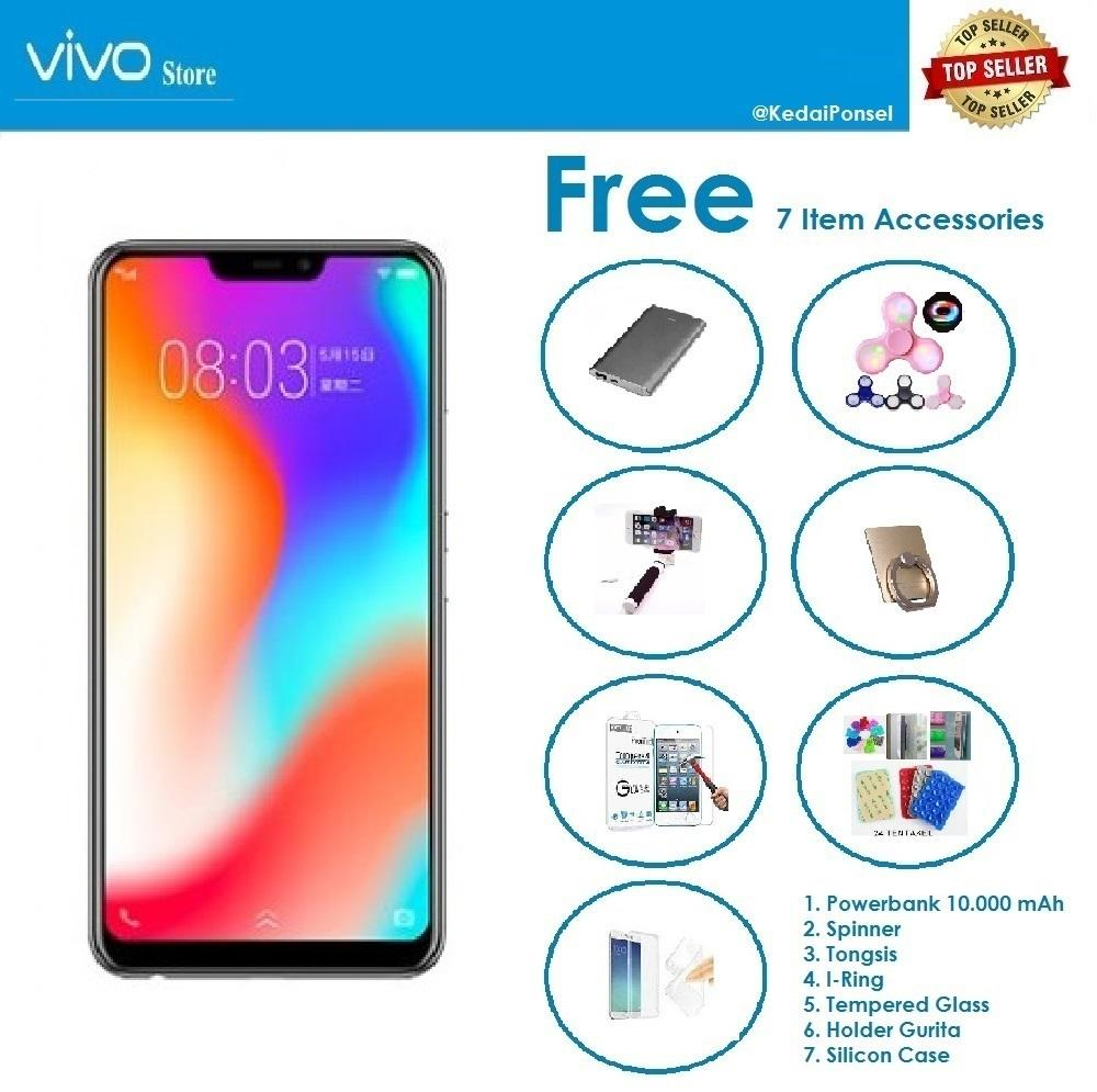 VIVO Y83 [4/32GB] + Paket Accessories (7 Item)