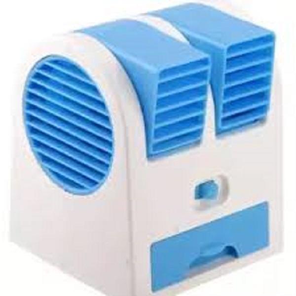 Double Blower AC Mini Fan Portable [ BMS 1409 ]