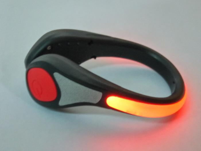 Salzmann Outdoor Cycling / Running Reflective Led Shoe Light (red) By Hike N Run.