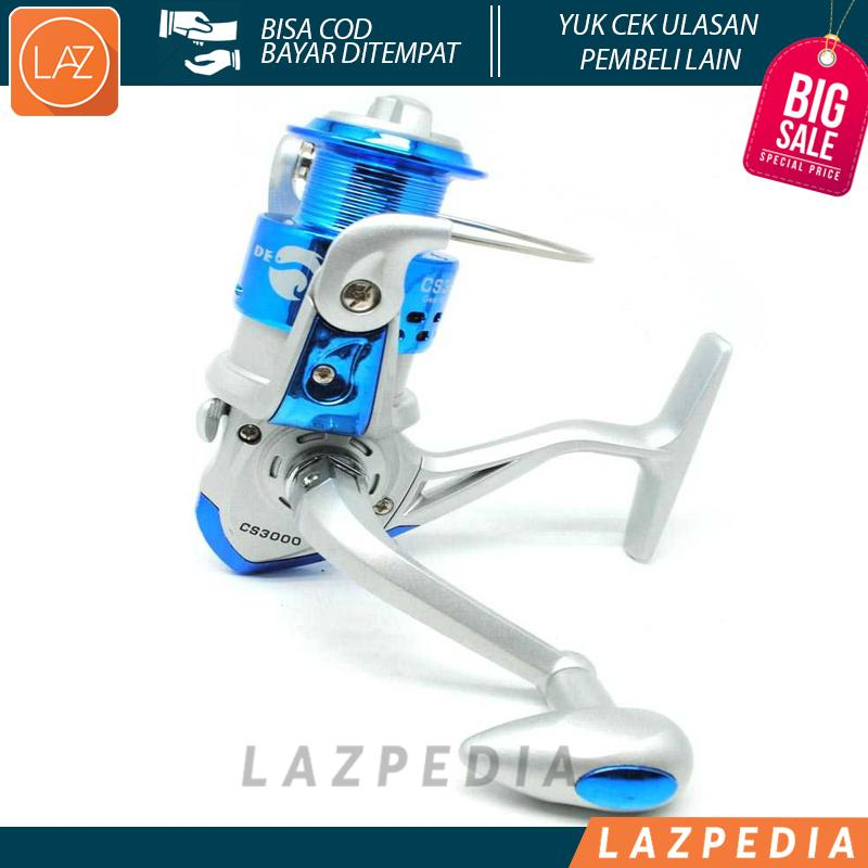 Debao CS3000 Fishing Spinning Reel 8 Ball Bearing Pancing Alat Gulungan Ikan Laut Sungai