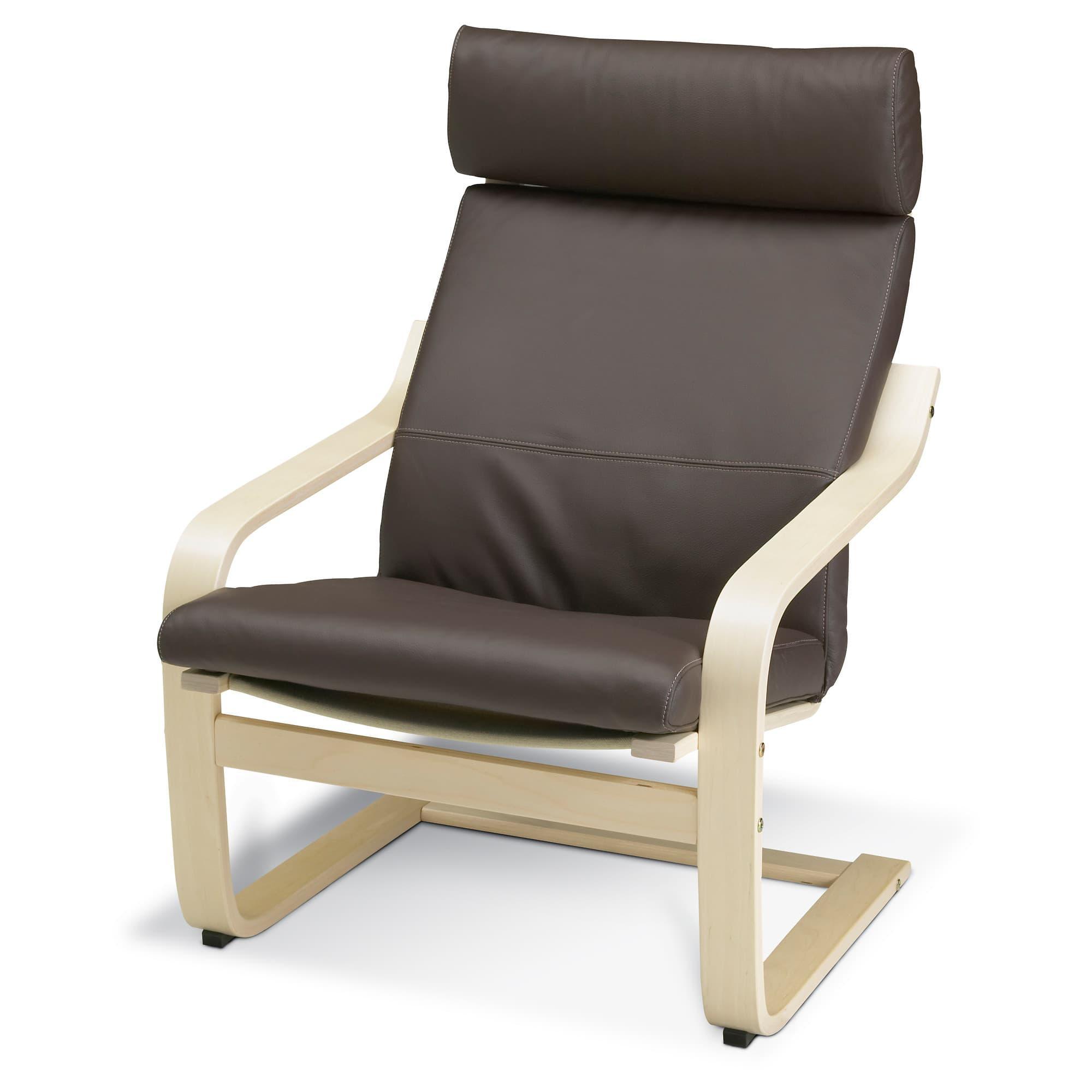 "PROMO!! IKEA POÃ""NG Kursi berlengan, veneer kayu birch, Robust Glose cokelat MURAH /  BUBBLE 3 LAPIS / ORIGINAL / IKEA ORIGINAL"