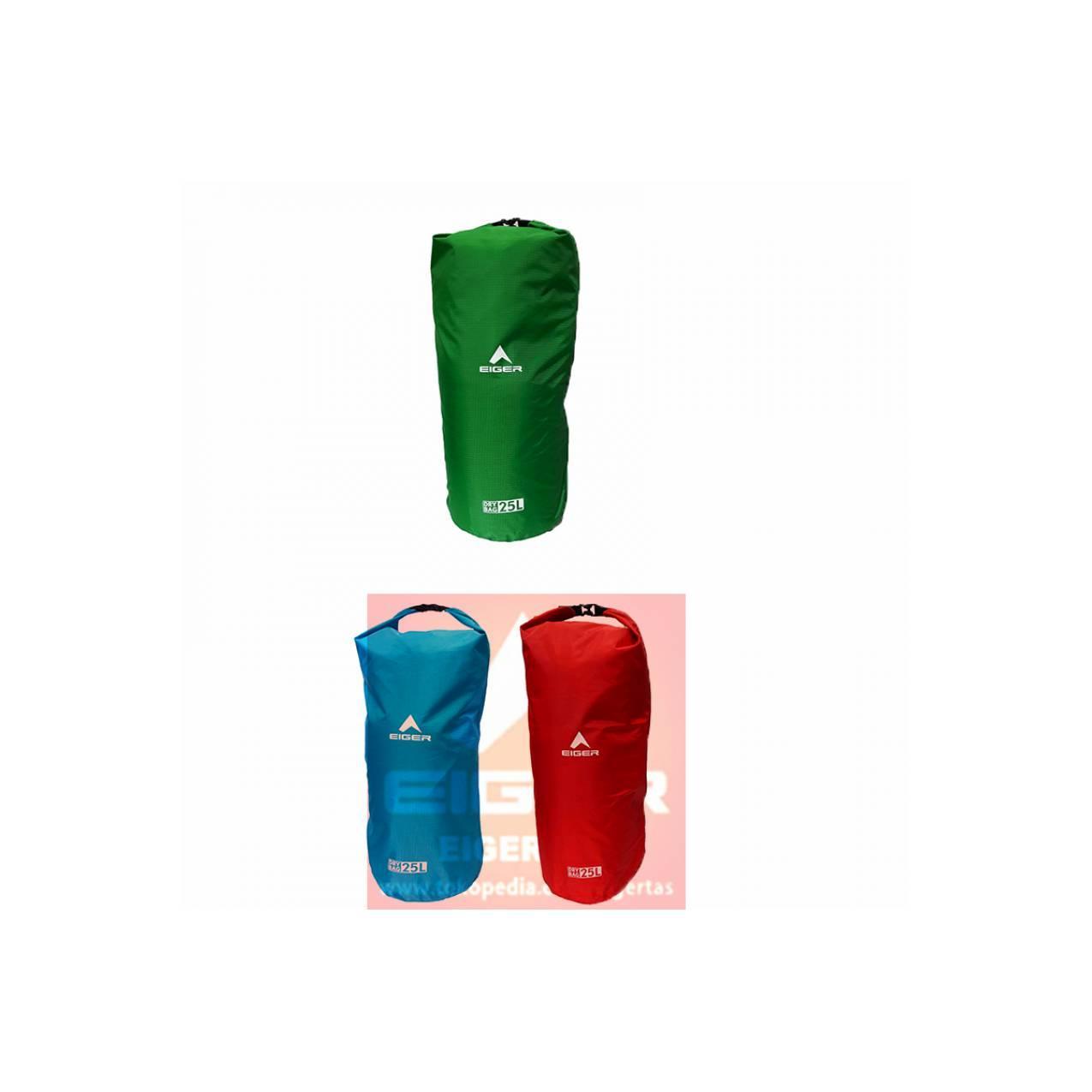 DRY BAG EIGER 25 L ART 910003451 WATERPROOF - TAS SIMPLE