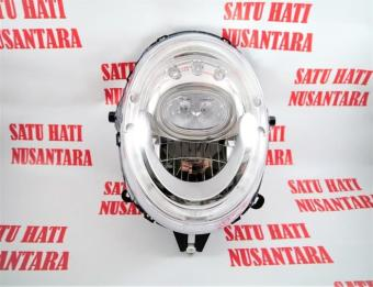 Cheapest Price (Scoopy Sporty Stylish eSP) Honda ORI Head Lamp Light / Lampu Depan / Reflektor sale - Hanya Rp617.740