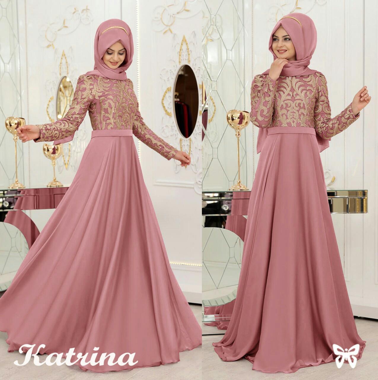 FJCO SIS Katrina / Maxi Dress wanita / Fashion wanita / Fashion Muslimah