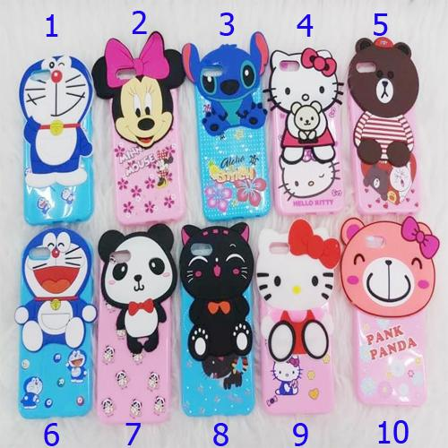 Softcase Karakter 4Dimensi BONEKA TIMBUL / Head Doll Cute For OPPO A37 / NEO 9 -