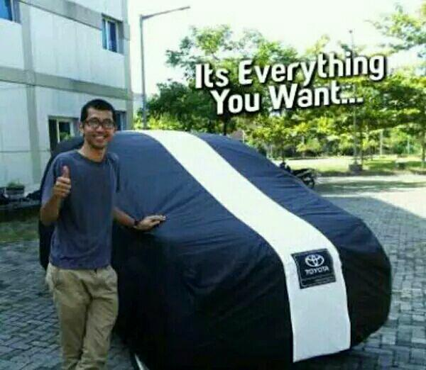 Selimut/Cover Mobil Toyota Yaris Al New outdoor List