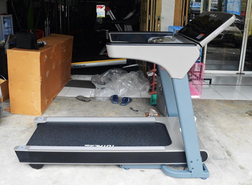 Free Ongkir Seluruh Indonesia - Treadmill Elektrik Komersil TL 166 New Model - Motor 3.0 Hp - Alat Fitness - Gym - Best Seller Product