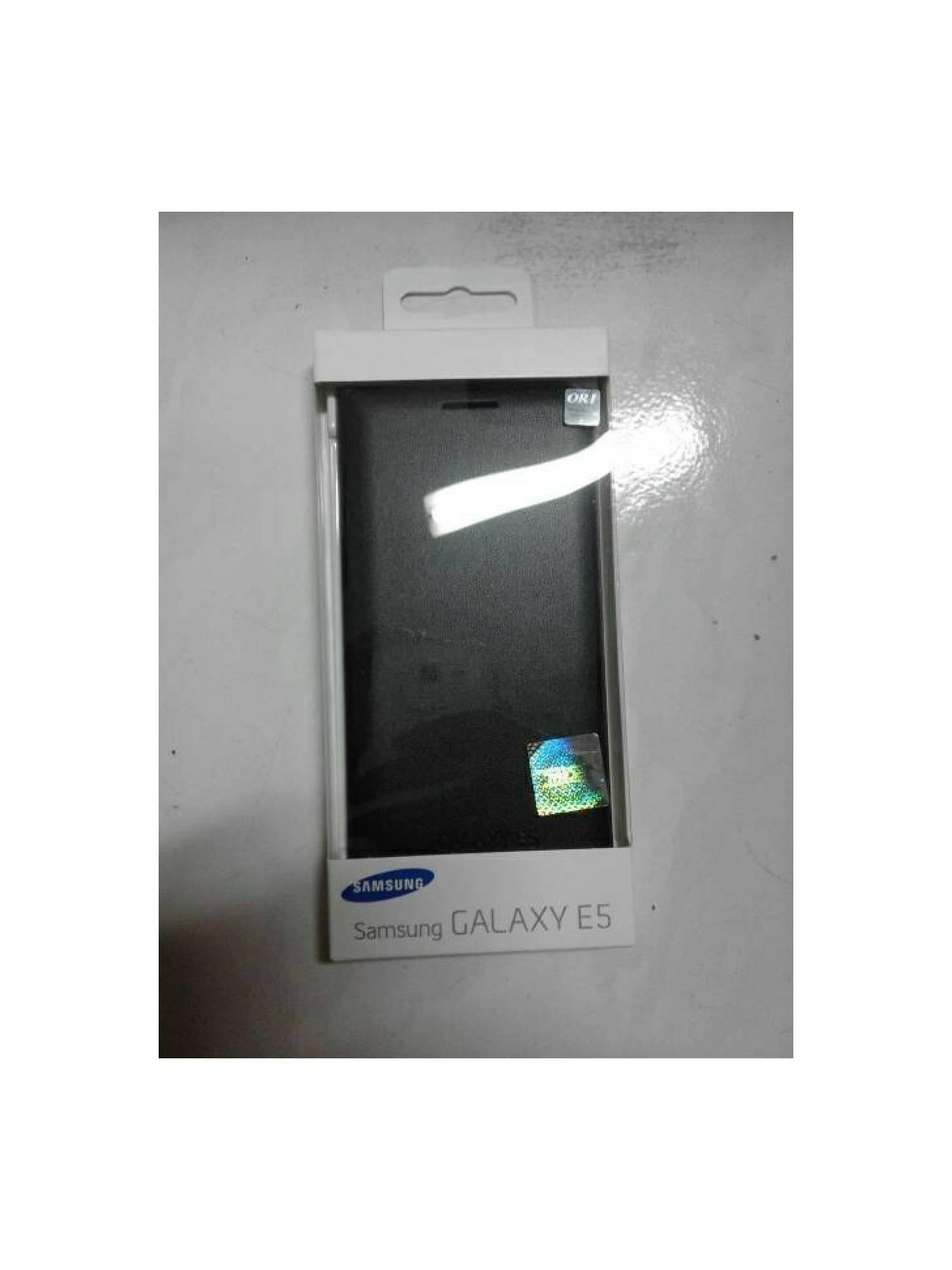 Flip Wallet Case Samsung Galaxy E5 Original