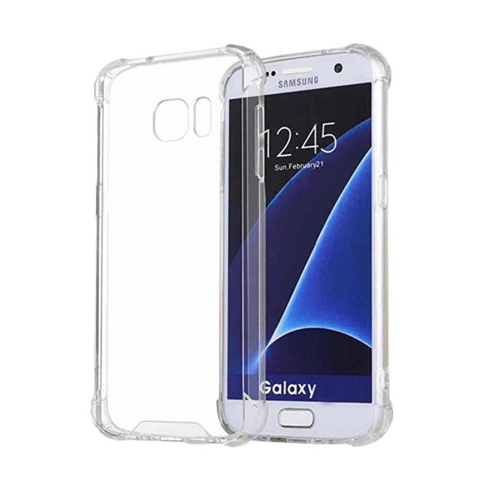 ShockCase for Samsung Galaxy S6 Flat (G920) / 4G LTE / Duos | Premium Softcase Jelly Anti Crack Shockproof - Transparan