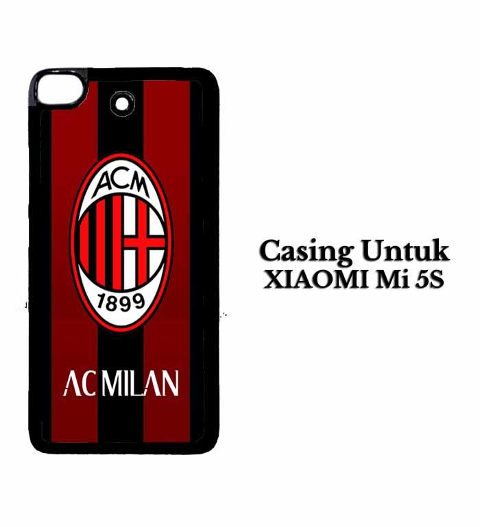 Casing XIAOMI Mi5S ac milan ac Custom Hard Case Cover