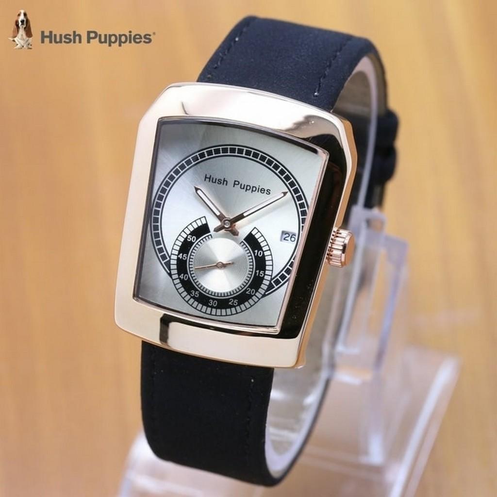 jam tangan wanita / jam tangan wanita fossil / jam tangan wanita casio / jam tangan wanita guess / jam tangan wanita original / jam tangan wanita online / Jam Tangan Wanita / Pria Hush Puppies Ninja Leather Black White Rose DISKON MURAH!!!