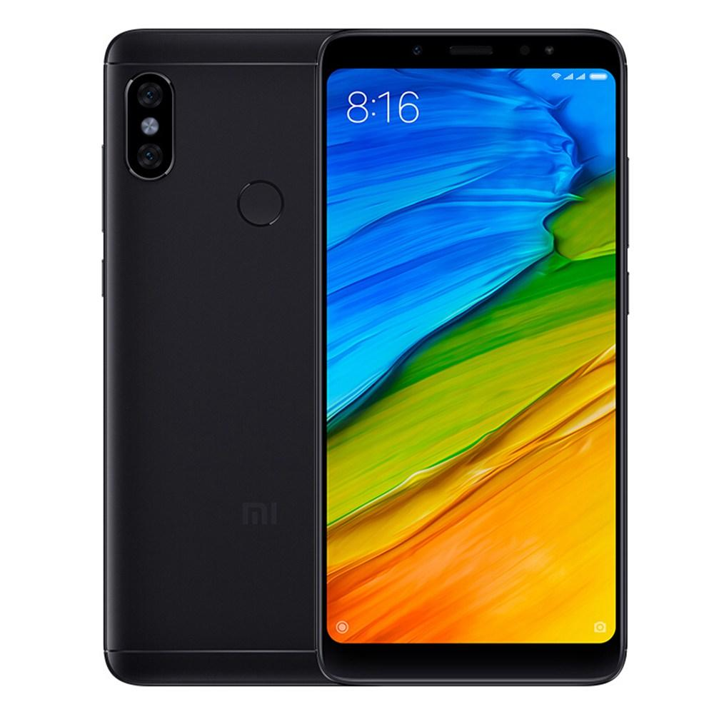Xiaomi Redmi Note 5 AI Dual-back Camera - RAM 4/64 Gb - Black