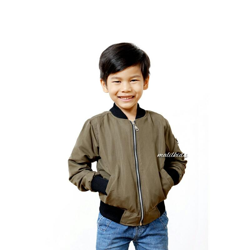 JACKET BOMBER MALILKIDS (FREE 1 PATCH)