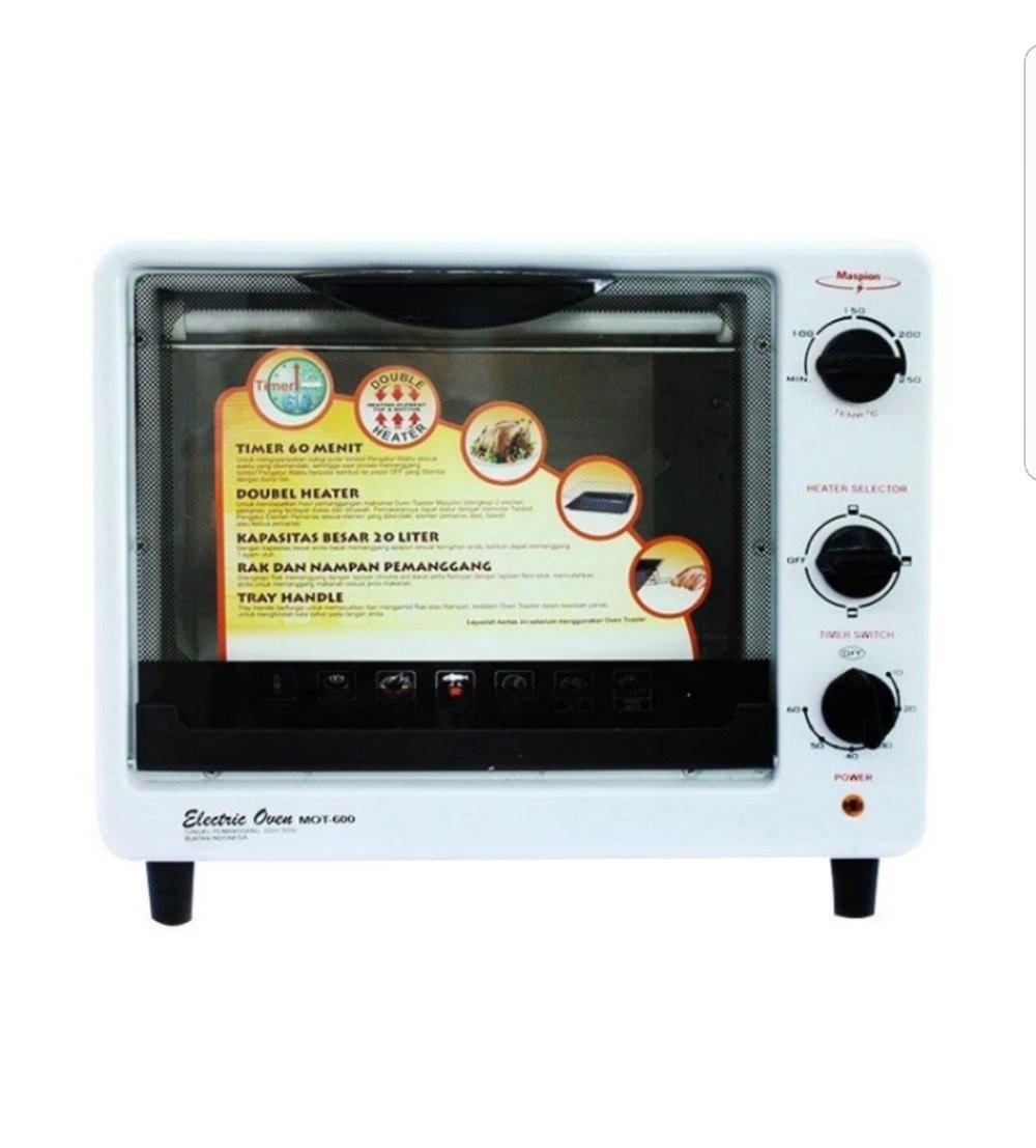 Maspion Oven Toaster MOT 600 Pemanggang Elektrik