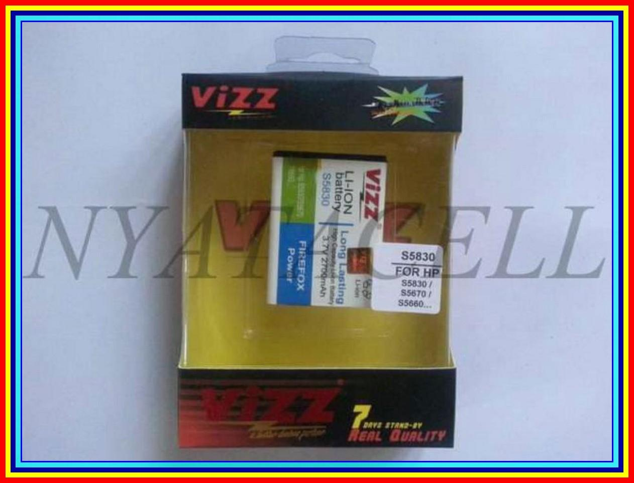 Fame 2700Mah Batre Baterai Vizz Double Power Samsung Young 2 S6310