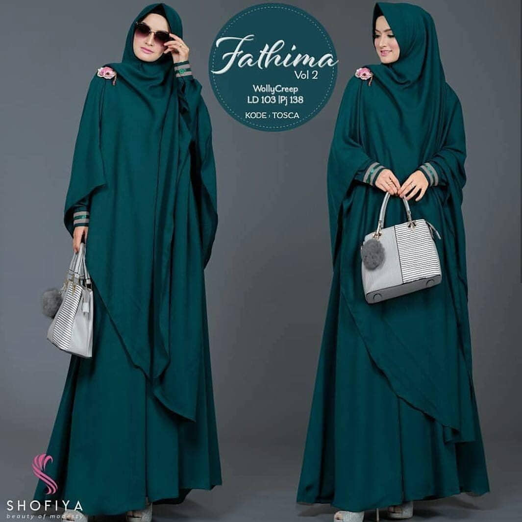 Fatimah Syari 2 // Baju Gamis // Dress Wanita
