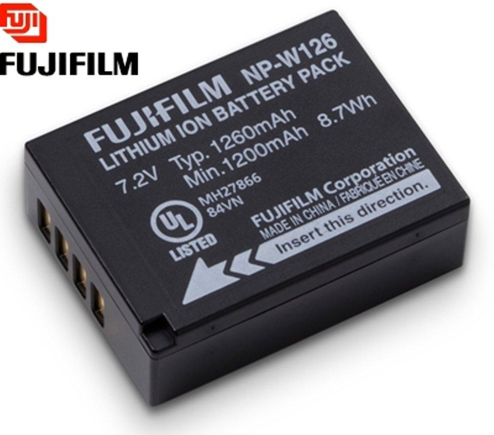 Fuji NP-W126 Battery FOR FUJI X-Pro 1/XT1/XE1/XE2/XM1/HS30 EXR/ HS30EXR/ HS33 EXR/ HS33EX