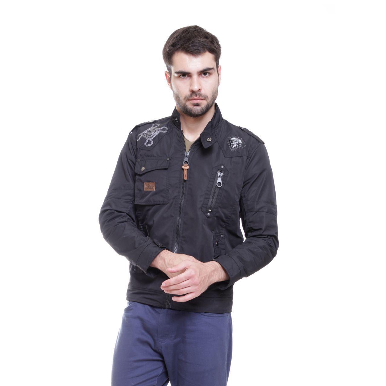 Jaket pria terlaris urband terbuat dari bahan parasut mayer puring fleece