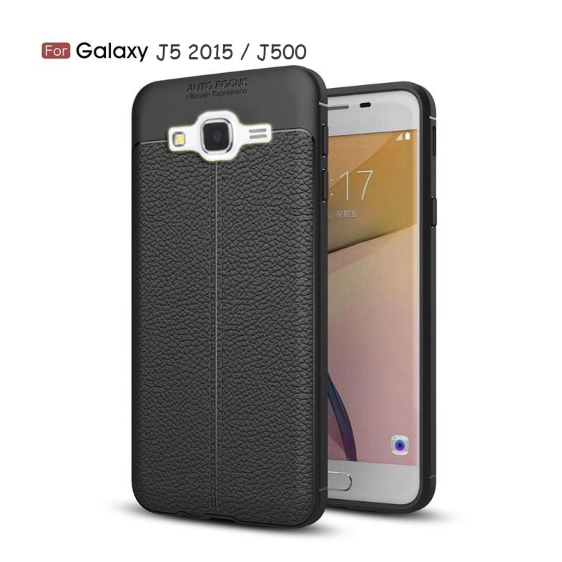 JAK - Softcase Leather / Case Auto Focus / Case Ultimate for Samsung Galaxy J5 / J5 2015 / J500 ( 5.0