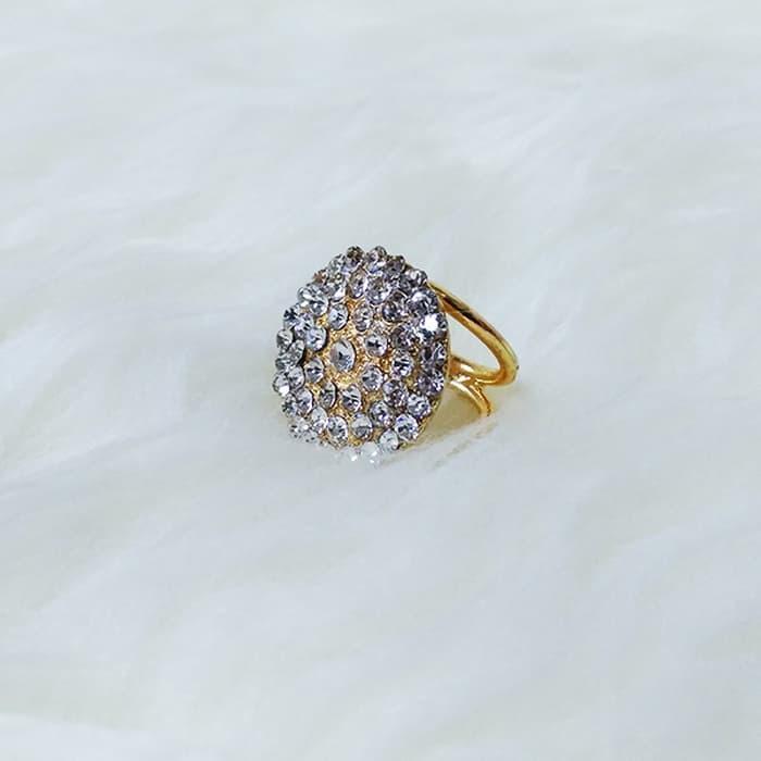 SALE - Cincin / Ring Kerudung / Jilbab / Syal Gold Circle