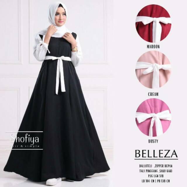 Baju murah - Belleza (black)