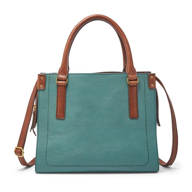 e95001797 Fossil Claire Satchel – Teal Green, SHB 1929320