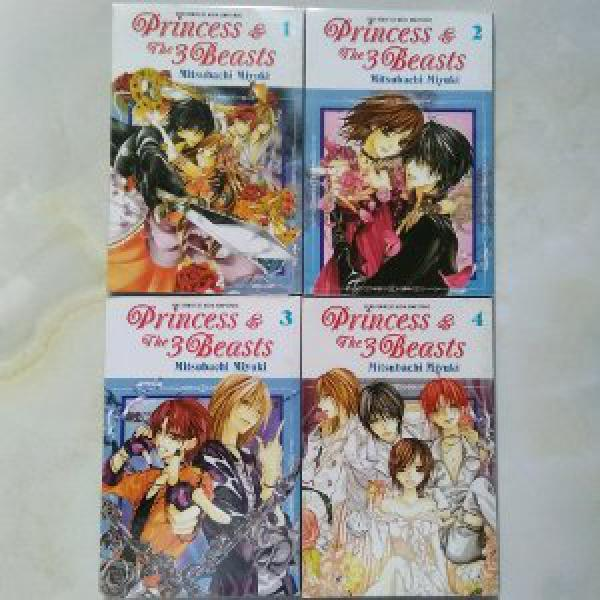 Komik Princess and The 3 Beasts 1-4T