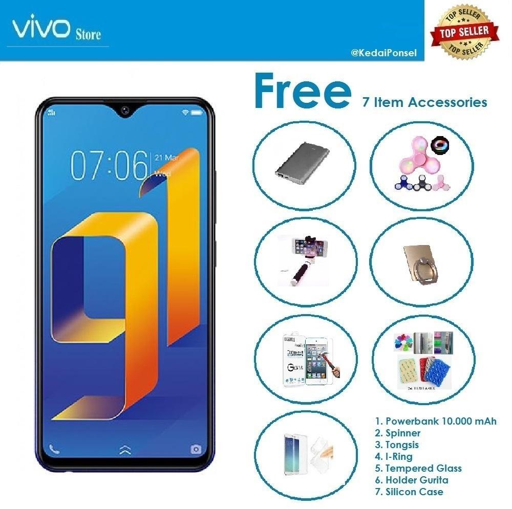 VIVO Y91 [2/16GB] + Paket Accessories (7 Item)