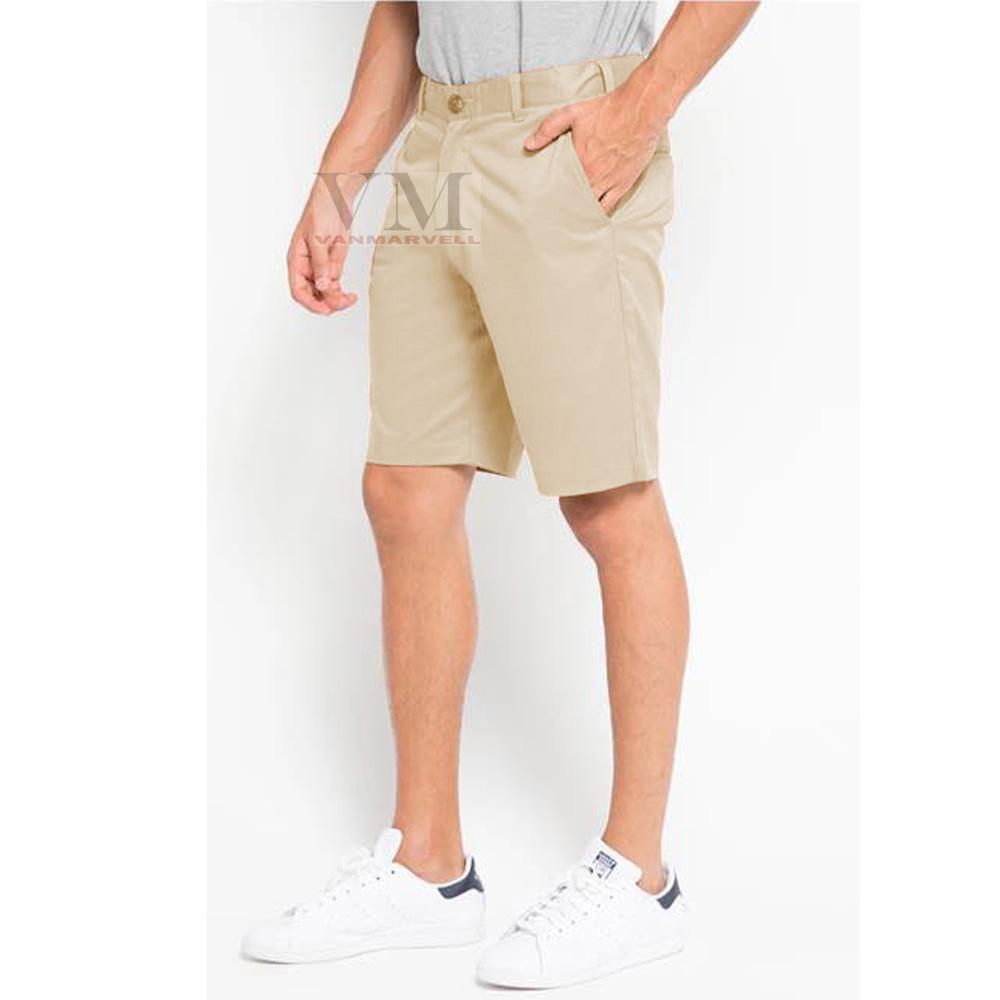 Harga Celana Chinos Pendek Pria Abu Muda Rp 69900 Chino Vm Slimfit